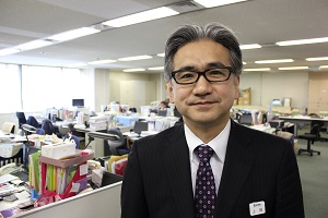 三越伊勢丹グループ労働組合の上田智亮氏