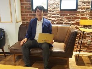 ChatWork株式会社の専務取締役の山本正喜氏