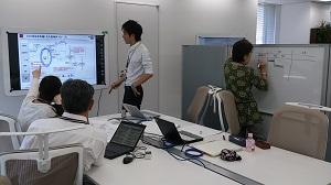 プロジェクトチームが占有して使えるフォーメーションエリア。