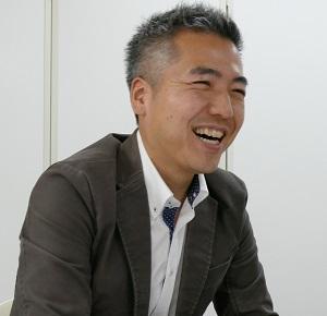 むすび株式会社代表取締役の深澤了氏⓵