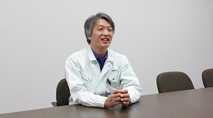 写真:弁理士資格を持ち、特許事務所での勤務経験もあるOHARA(オハラ)の柳川慶一さん