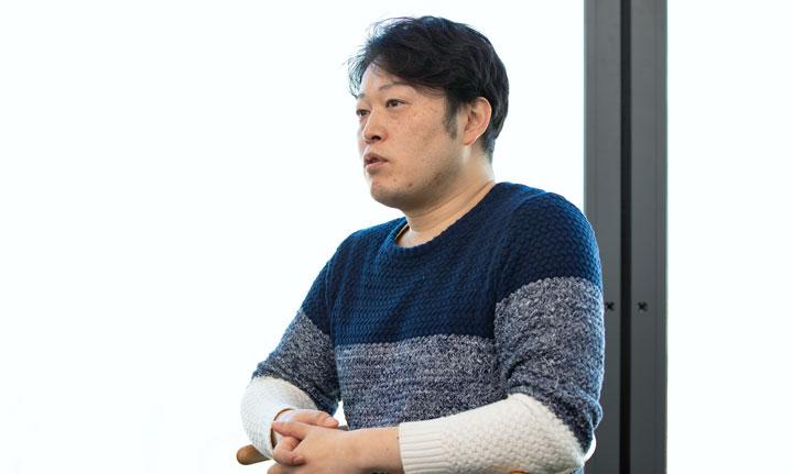 写真:株式会社LINE HRサービス事業部事業部長・上土達哉氏