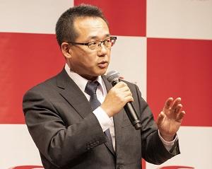 写真:第6回「GOOD ACTION アワード」で特別賞を受賞した株式会社タニタ