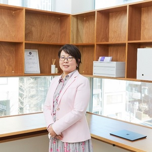 画像:ミルメソリューション株式会社代表取締役・須田淡子